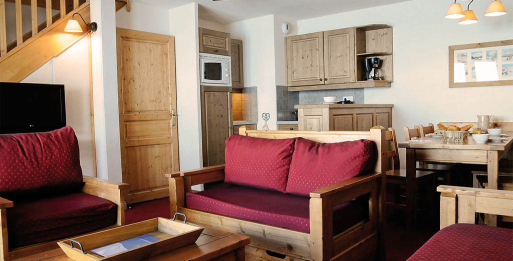 Enjoy warm and cosy accommodation in your apartment