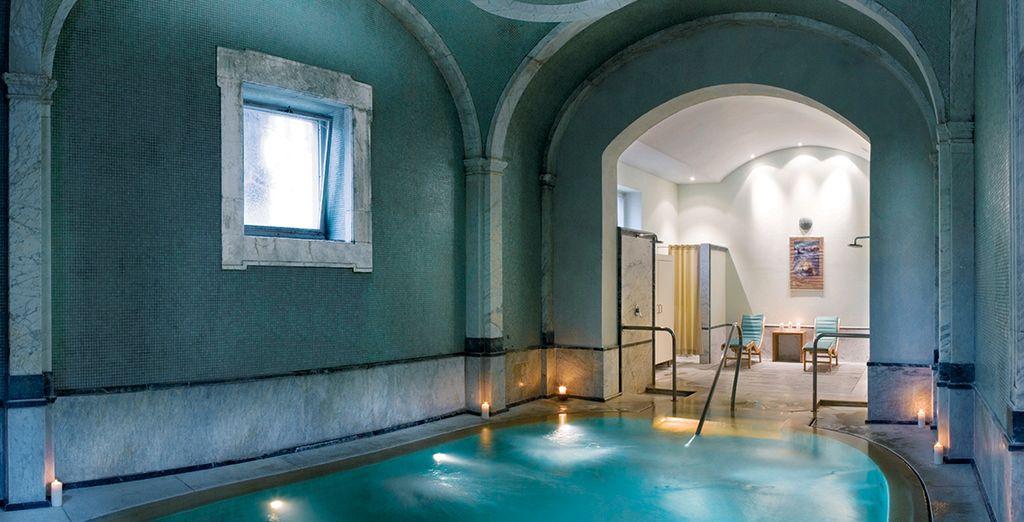 Enjoy a discount on spa treatments