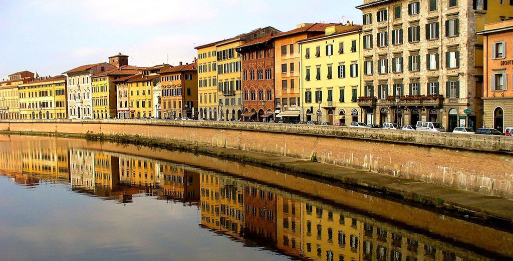 A magical riverside city
