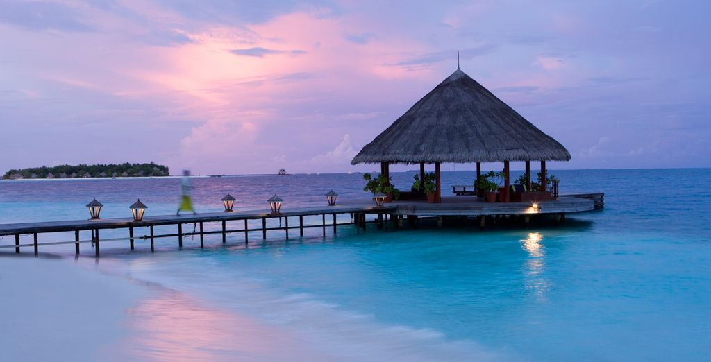 As the sun sets, reflect on your day in this truly magnificent resort