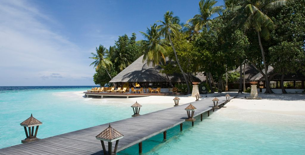 Reach your paradise on this enchanting island in the Maldives