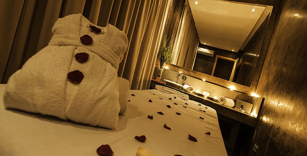 This offer includes a free 30 min spa treatment and 10 euros spa credit
