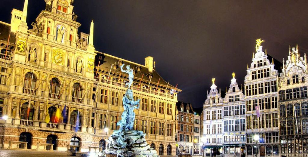 Brussels is lined with marvels