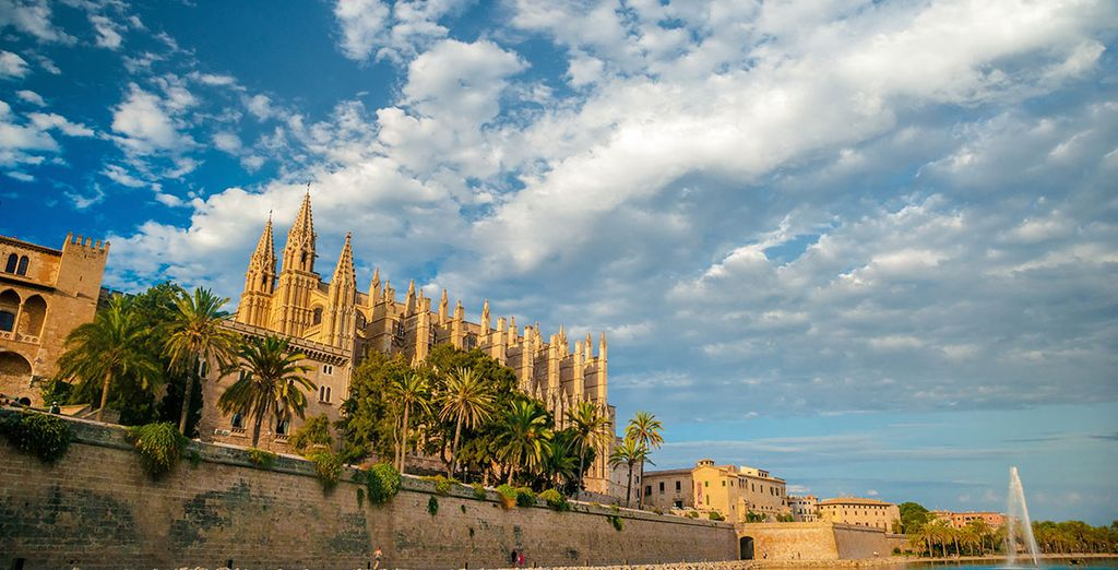 Or explore the nearby island capital, Palma (16 km)