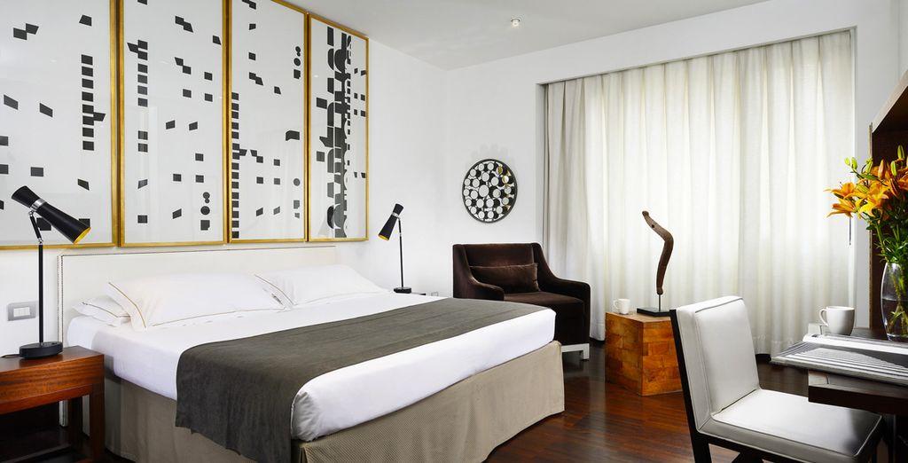 Where you can enjoy an upgrade to a comfortable Superior Room