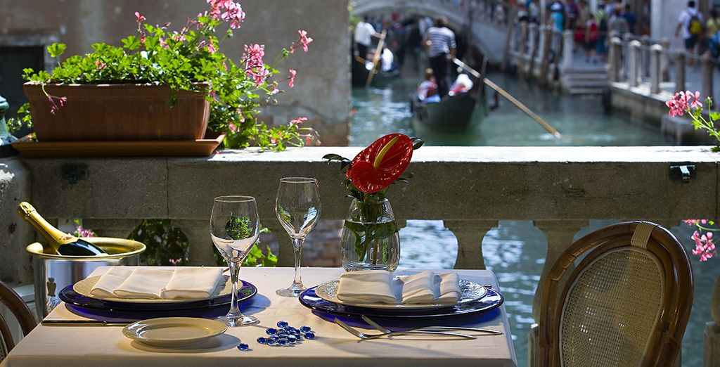 At the fantastically located Palace Bonvecchiati