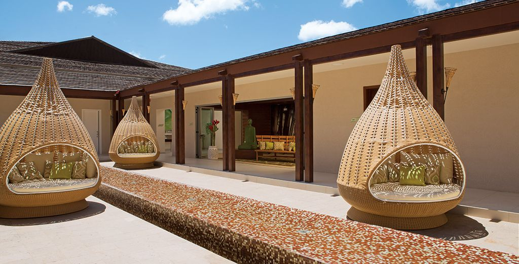 Visit the pampering Spa