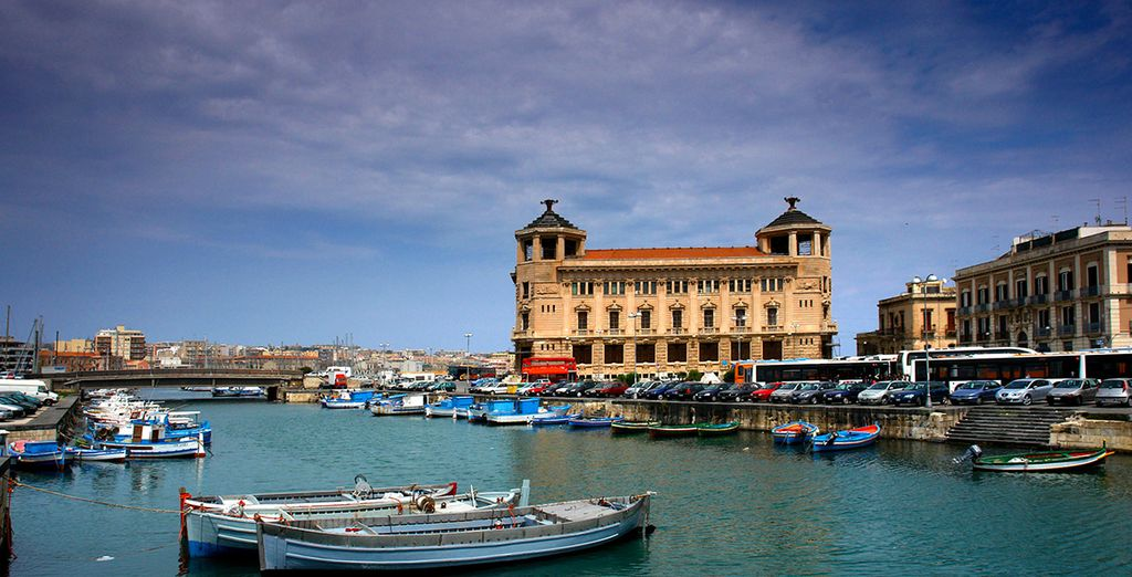 The hotel is located in historic and beautiful Sicily