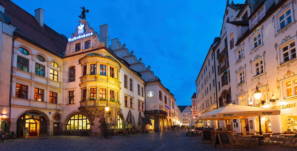 So immerse yourself in the famous Bavarian charm