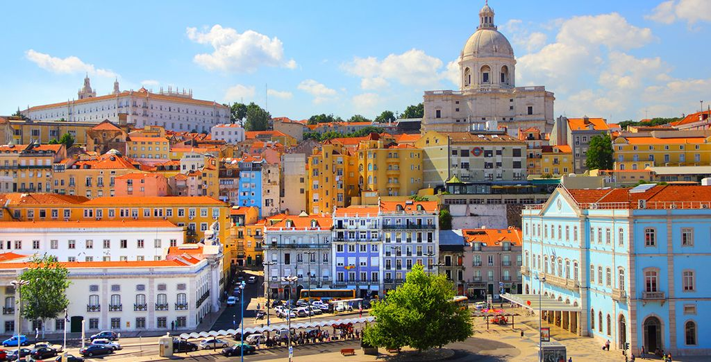 Ideally located in the Portuguese capital