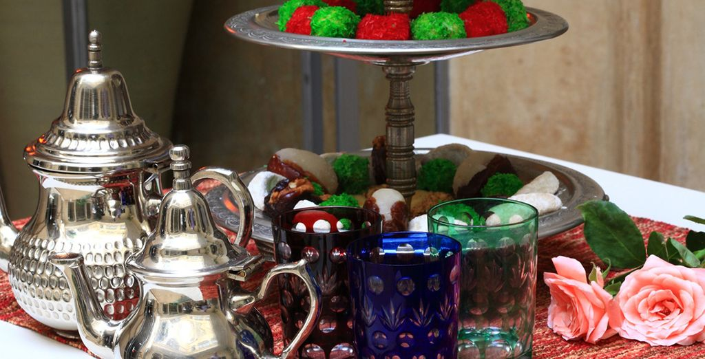 Sample a Moroccan afternoon tea