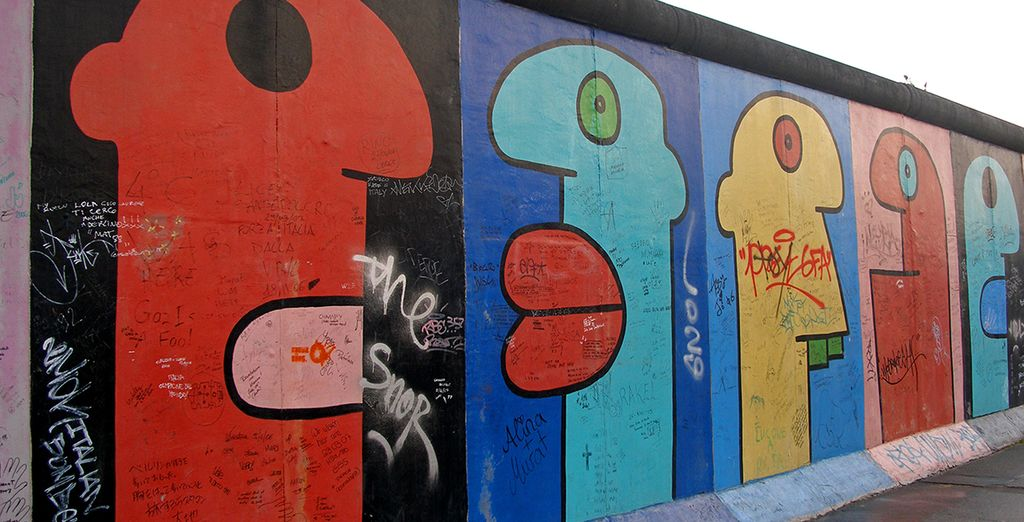 From the historically significent Berlin wall