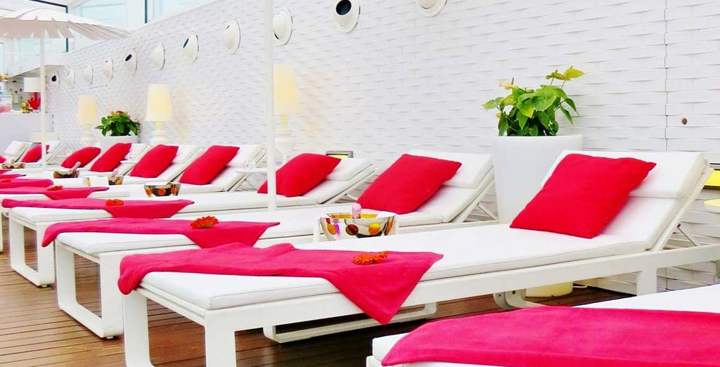 Or simply kick back and enjoy a good book while you relax by the pool...