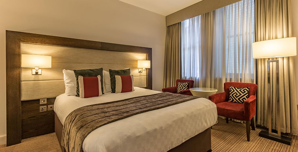Enjoy your stay in a  Double Room