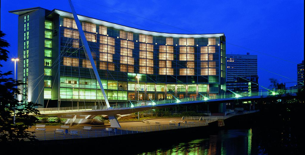At the 5* Lowry Hotel