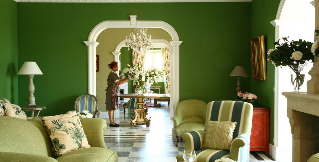 The decor here evokes a sublime sense of calm