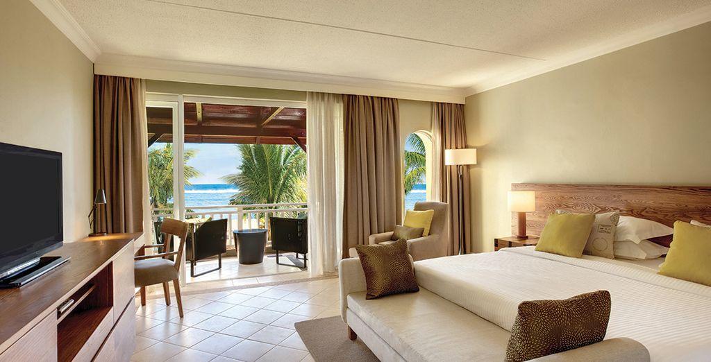 Choose between 3 luxurious rooms...