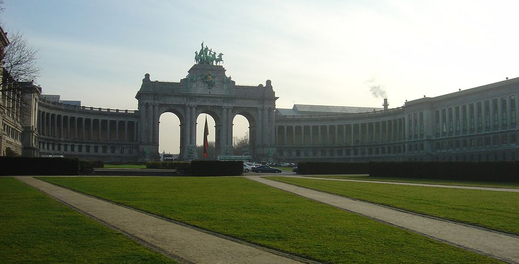 Visit the iconic sights of Brussels
