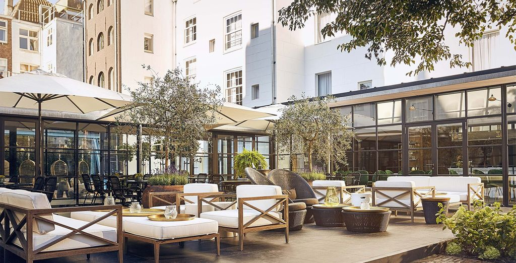 An oasis in the heart of the hotel