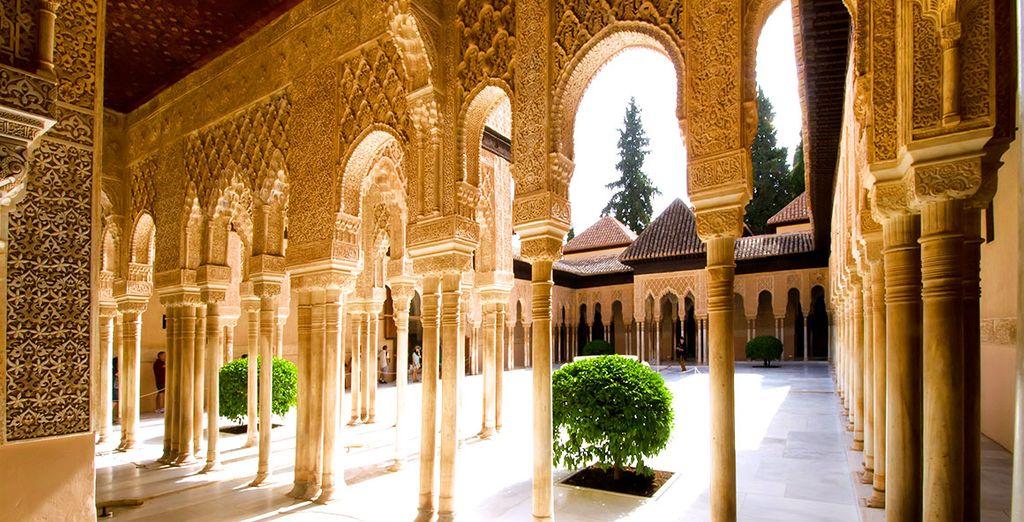 Or set out explore the city's magnificent architecture