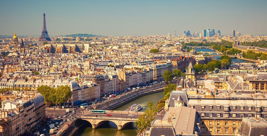 Head out into the excellent city of Paris