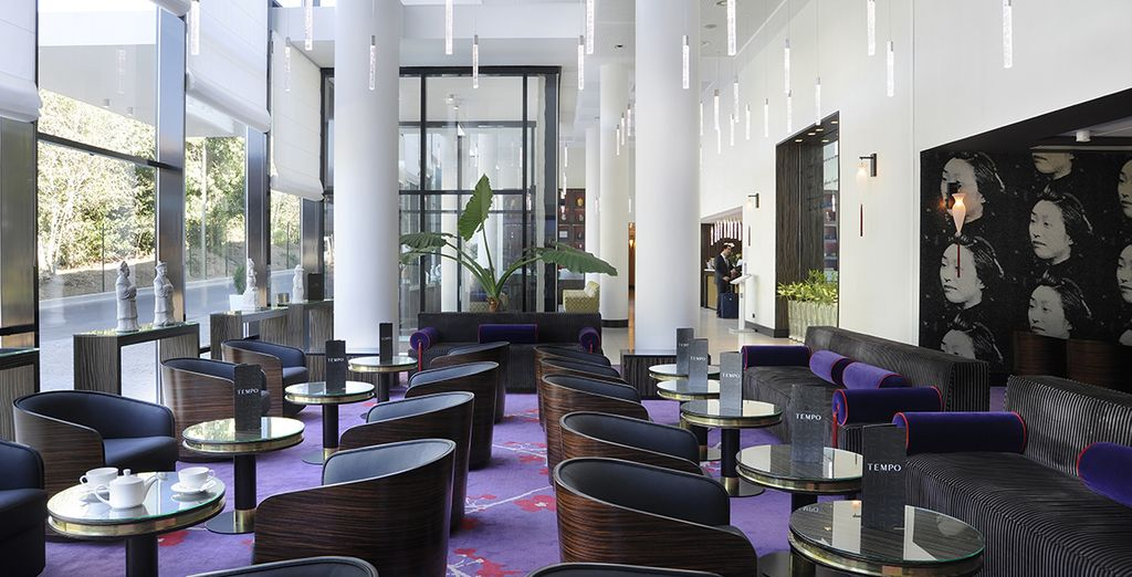 Enjoy these luxe surroundings
