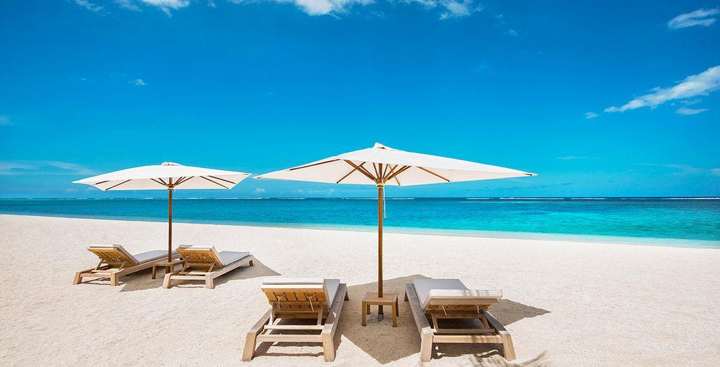 Enjoy complete beach bliss...