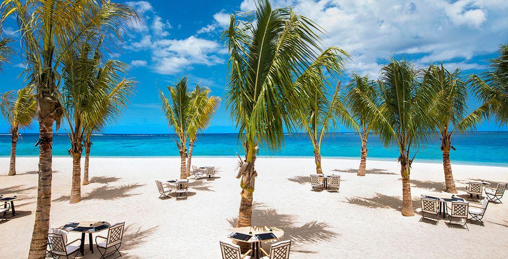 And soak up some beautiful Mauritian sun!