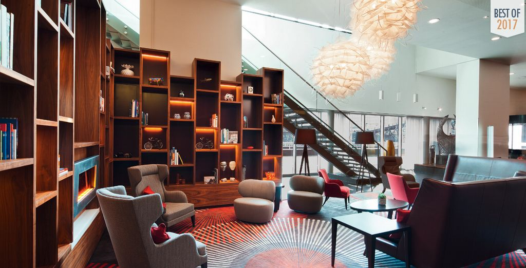 Stay at a modern, stylish hotel