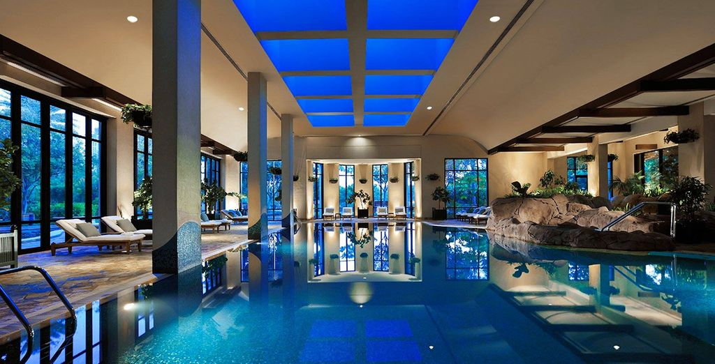 And an award winning spa- pure luxury!