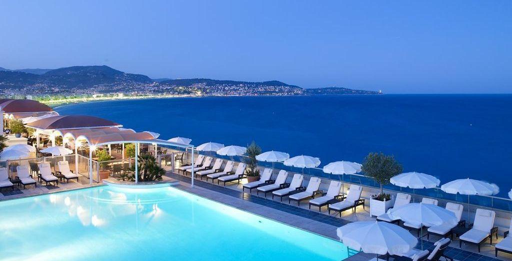 Spectacular sea views await you