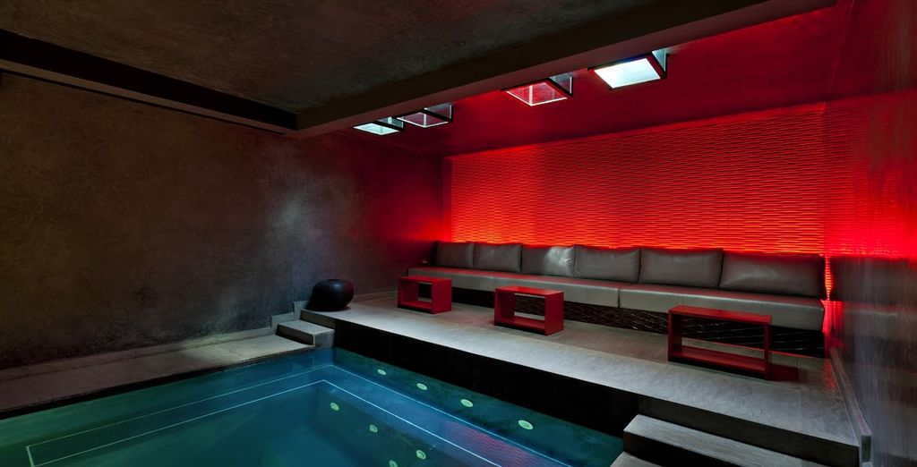 Or escape the heat in the serene spa - guests staying over 4 nights have a free massage waiting for them...