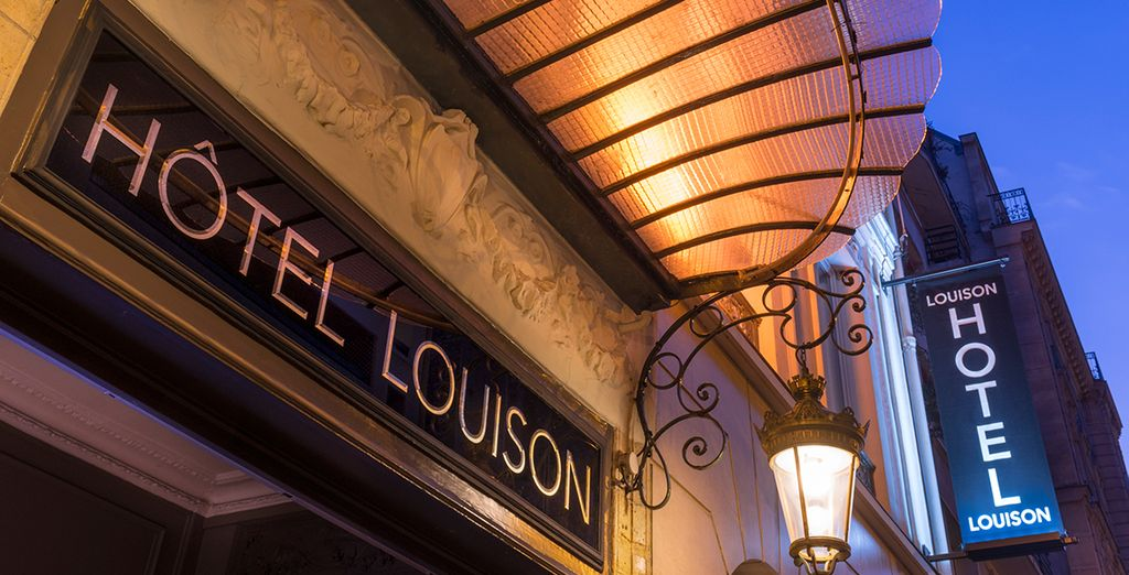 At the Louison Hotel 3*