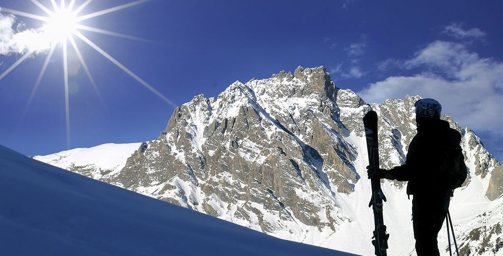 There are slopes to suit all levels of skiier and snowboarder