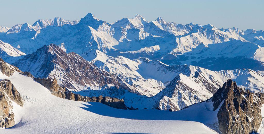 In the world's most famous ski resort, Chamonix
