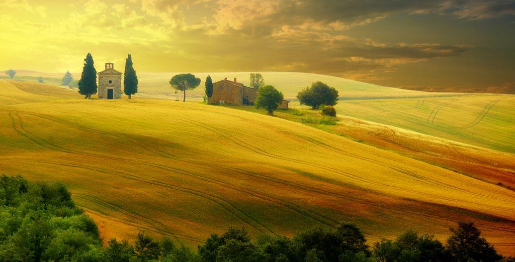 Prepare yourself for breathtaking scenery