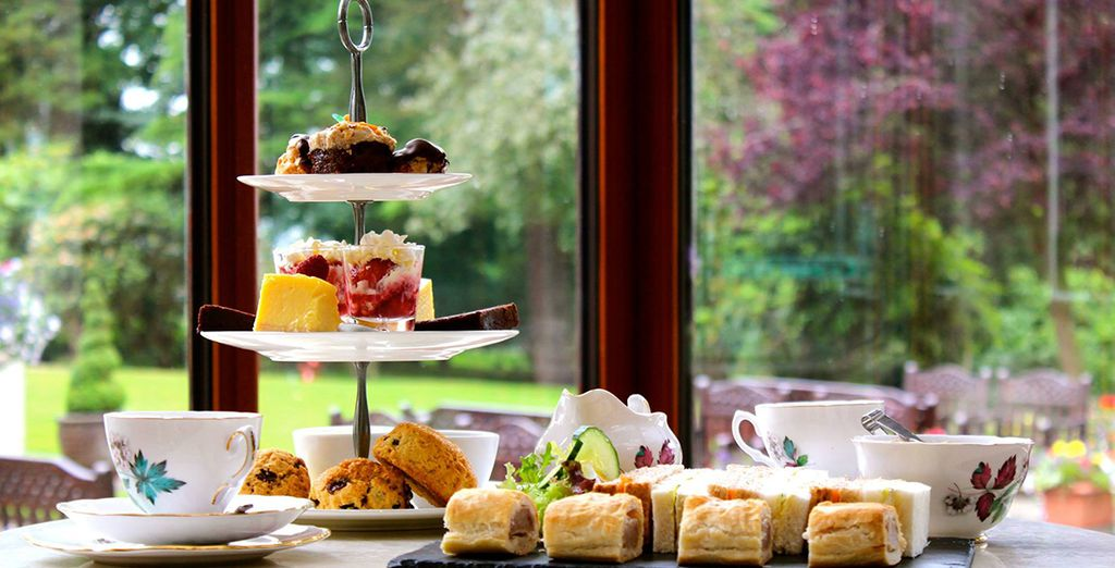 Indulge in a quintessental afternoon tea