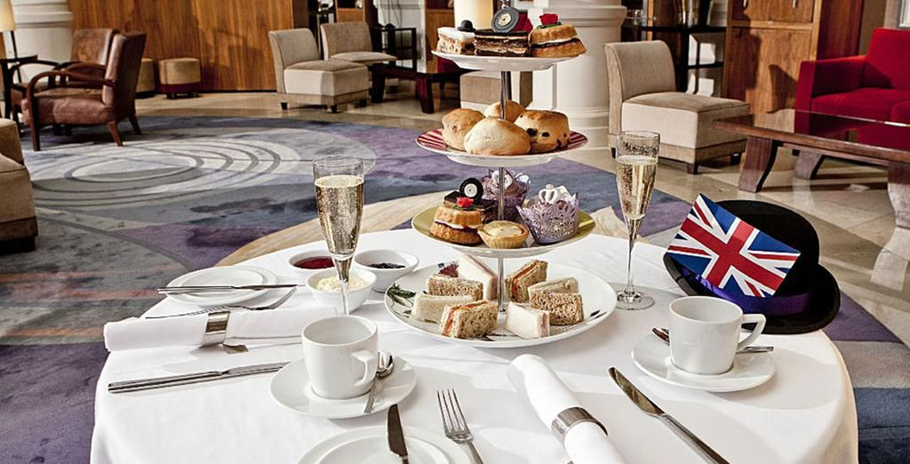 Make things English with a spot of Afternoon Tea