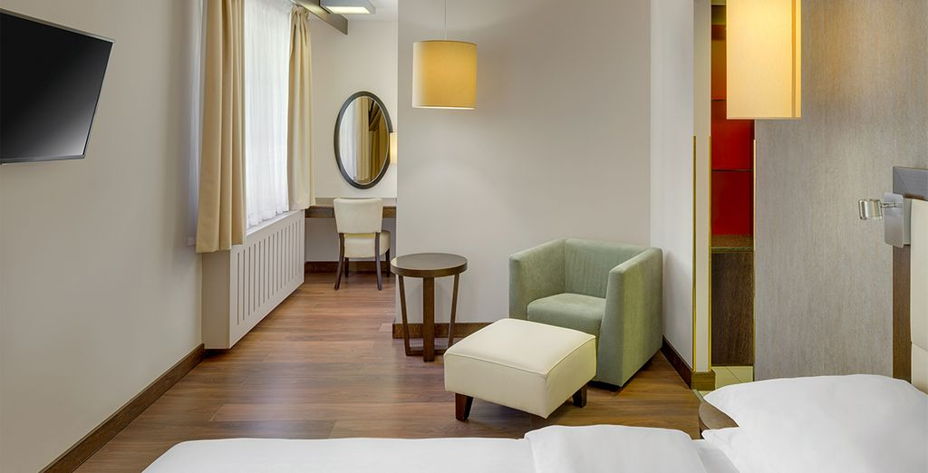 Our members can enjoy an upgrade to a Grand Deluxe Room