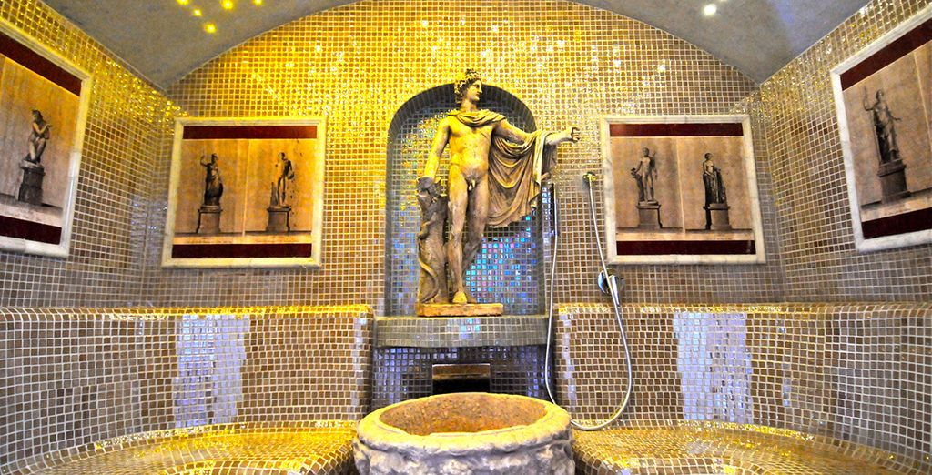 Be a true Roman, and relax in the hotel spa...