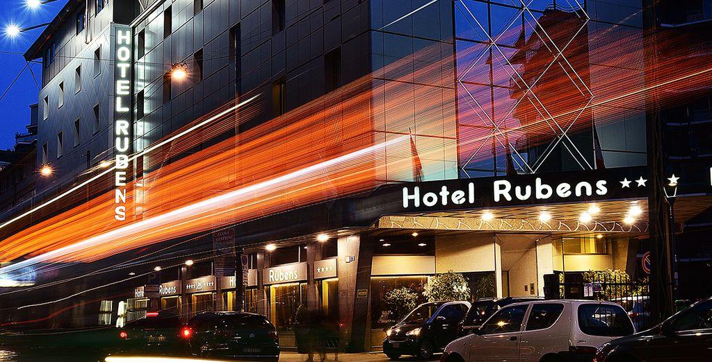 From Antares Hotels Rubens Milan