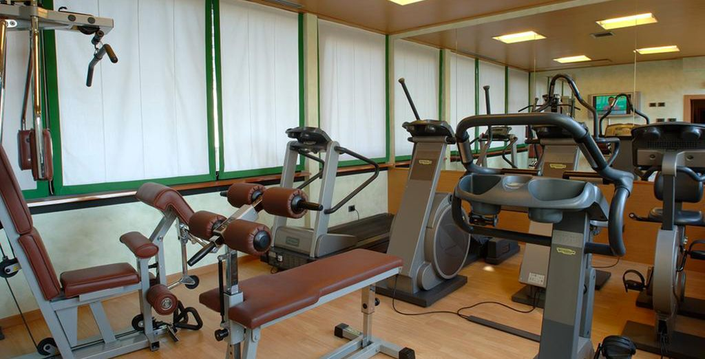And a fully equipped gym