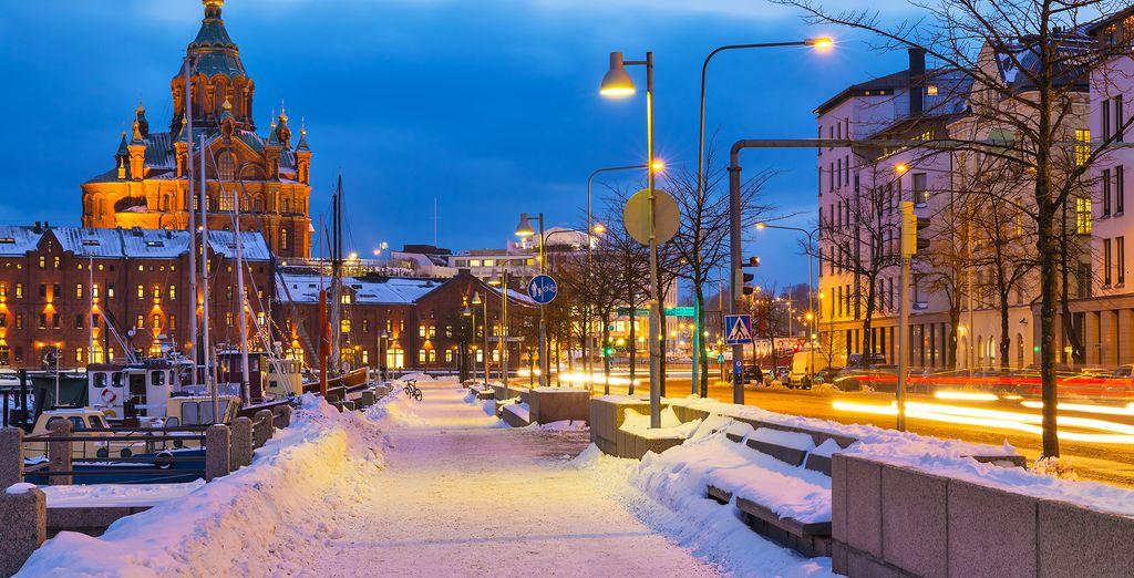 Helsinki is beautiful