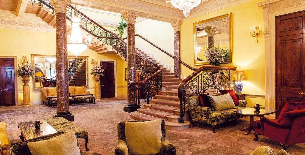 The award-winning Stoke Park, a magnificent 5-star property