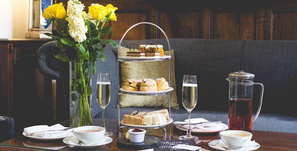 Why not enjoy an English classic - afternoon tea?
