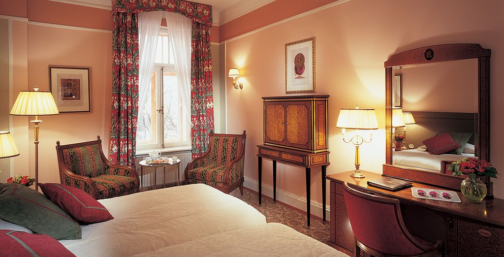 Our members can enjoy a spacious and bright Superior room