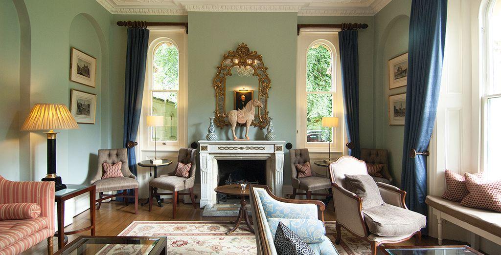 Relax in elegant interiors
