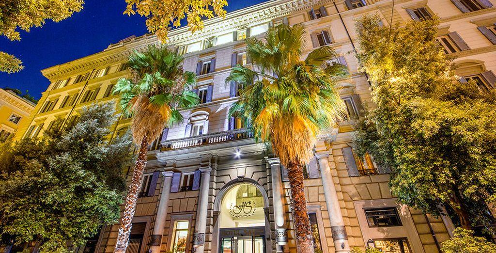 A grand historic palazzo
