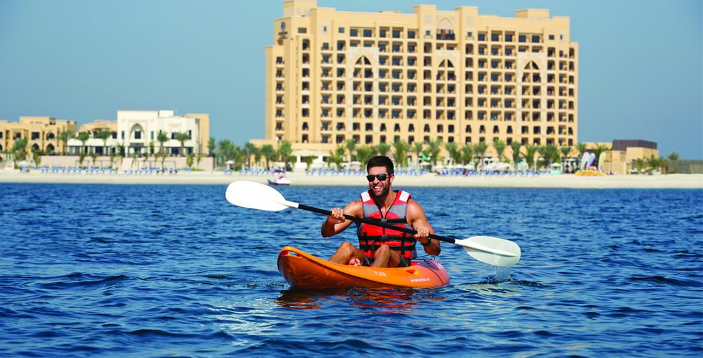 Where you can try your hand at some exhilarating watersports