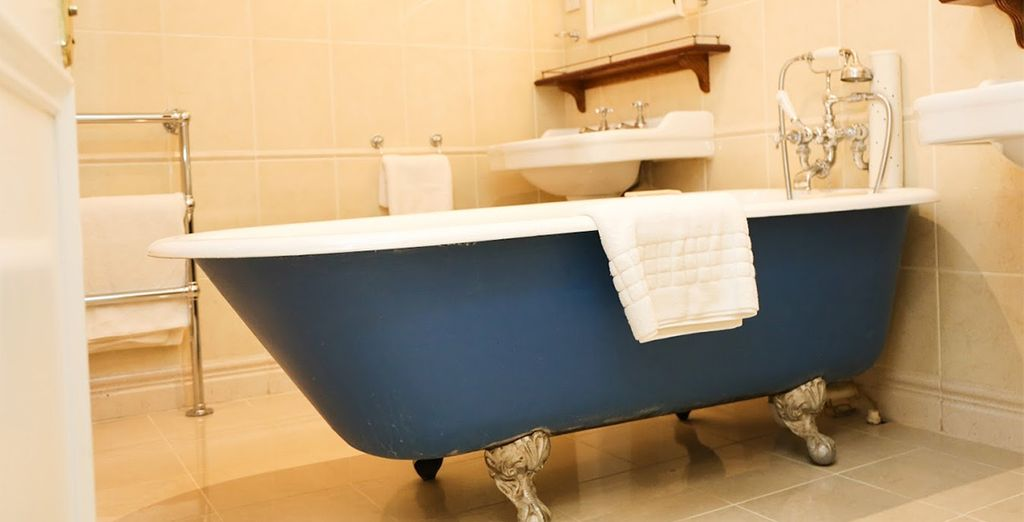 With unique features including roll top baths